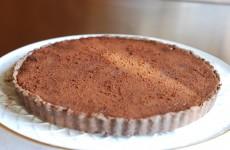 bittersweet chocolate tart