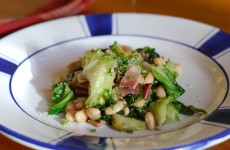 White Beans with Pancetta