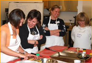 cooking classes and cooking lessons for healthy cooking in North Carolina